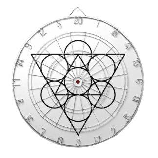 sacred geometry dart board