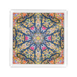 """Sacred Geometry """"Don Quijote"""" Square Tray by MAR"""