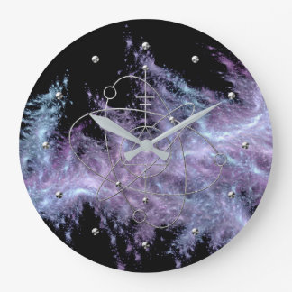 Sacred Geometry Drifting in the Universe Large Clock