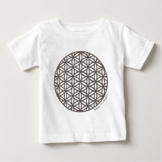 Sacred Geometry Flower of Life Baby T-Shirt