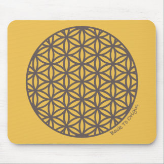 Sacred Geometry Flower of Life Mouse Pad