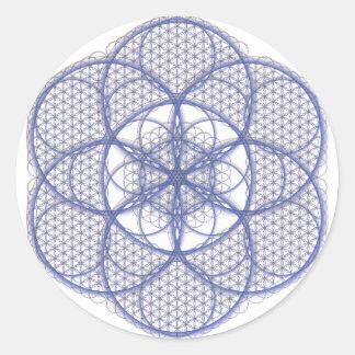 Sacred Geometry - Flower of Life Sticker