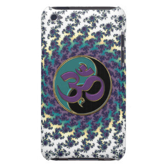 Sacred Geometry Fractal with Yin-Yang and OM iPod Touch Cover