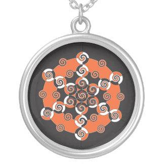 Sacred Geometry Halloween Necklace
