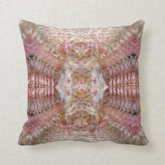 Sacred Geometry Hummingbird Pillow by Deprise