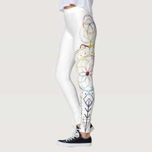 ebaf3b1ba509 Sacred Geometry Inspired Yoga Pant for Women