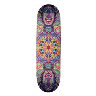 "Sacred Geometry ""kybalion"" Skateboard by MAR"