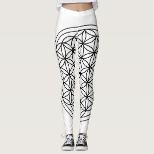 a7d6c333089c4b Women's Sacred Geometry Leggings | Zazzle