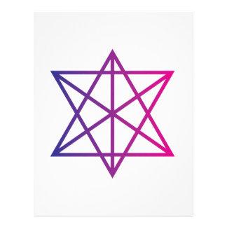 Sacred Geometry Letterhead