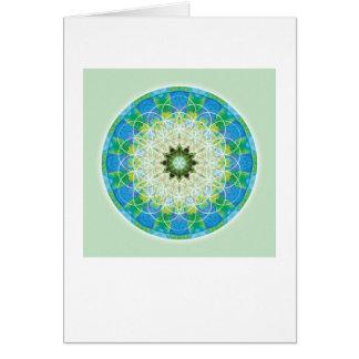Sacred Geometry Mandala 12 Card