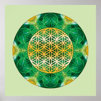 Sacred Geometry Mandala 1 Poster