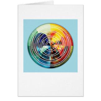 Sacred Geometry Mandala 8 Card