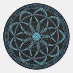 Sacred Geometry Mandala - Bliss Stickers