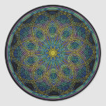 Sacred Geometry Mandala: Sincerity - Hand Drawn Stickers
