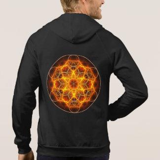 Sacred Geometry - Metatron Cube - Flower of Life Hoodie