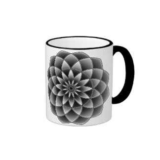 Sacred Geometry Ringer Coffee Mug