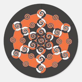 Sacred Geometry of Halloween Sticker