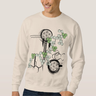 Sacred Geometry Pattern Sweatshirt