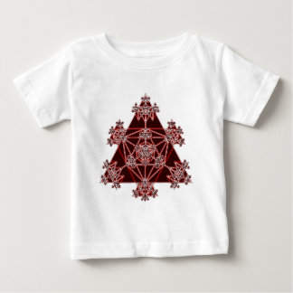 Sacred Geometry: Red Triangles: Baby T-Shirt