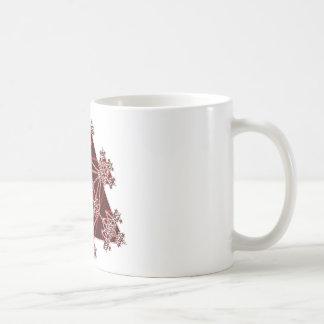 Sacred Geometry: Red Triangles: Coffee Mug