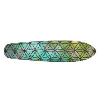 Sacred Geometry Skateboard Deck