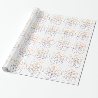 Sacred Geometry Gift Wrap Paper