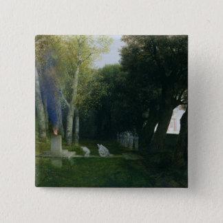 Sacred Grove, 1886 Pinback Button