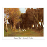 Sacred Grove By Arnold Bocklin Post Cards