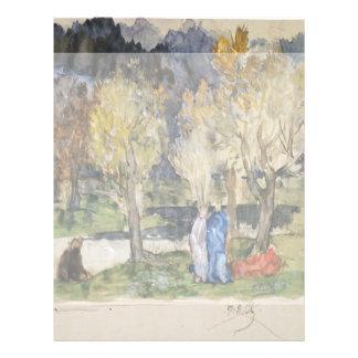 Sacred Grove by Pierre Puvis de Chavannes Flyer