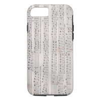 Sacred Harp Music iPhone case