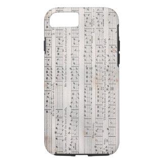 Sacred Harp Music iPhone case