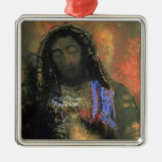 Sacred Heart, 1910 Metal Ornament