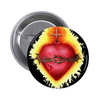 Sacred Heart 2 Button