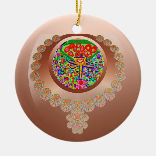 Sacred Heart 3 Ornament