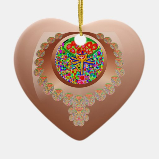 Sacred Heart 5 Christmas Ornament