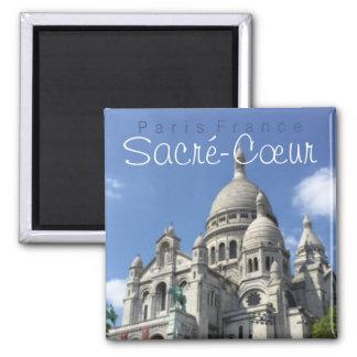 Sacred Heart Basilica Paris France Souvenir Magnet