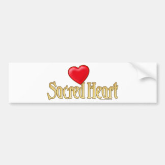 Sacred Heart Bumper Sticker