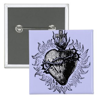 SACRED Heart Button