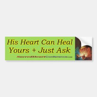 Sacred Heart c2 Car Bumper Sticker