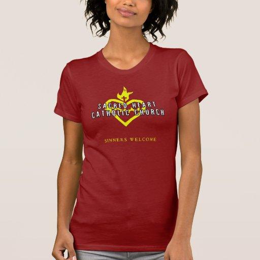Sacred Heart Catholic Church Dark Shirt