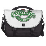 Sacred Heart Catholic School Green Bags For Laptop