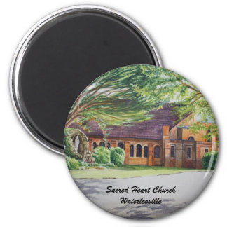 Sacred Heart Church Waterlooville magnet... 2 Inch Round Magnet