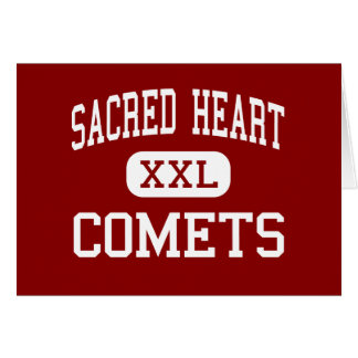 Sacred Heart - Comets - High - Los Angeles Greeting Card