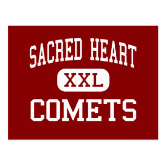 Sacred Heart - Comets - High - Los Angeles Postcard