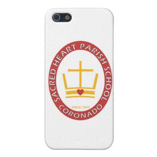 Sacred Heart Coronado Logo iPhone SE/5/5s Cover