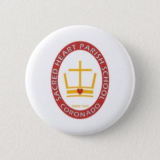 Sacred Heart Coronado Logo Pinback Button