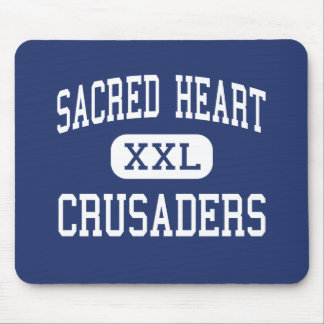 Sacred Heart - Crusaders - High - Carbondale Mouse Pad