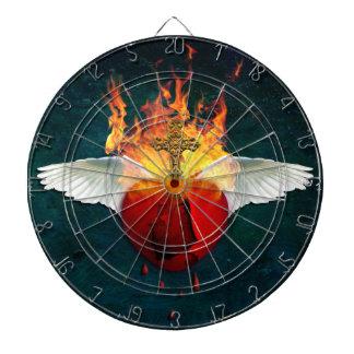 Sacred Heart Dart Board