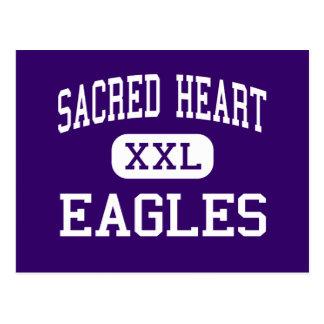 Sacred Heart - Eagles - High - East Grand Forks Postcard