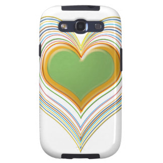 Sacred Heart - Enjoying Life - Expression of Love Galaxy SIII Cases